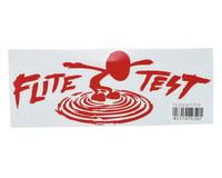 "Flite Test Mini Sparrow 10.5"" Die Cut Gremlin Logo Vinyl Decal (Red)"