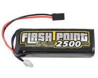 Flash Point 2S LiPo Receiver Battery Pack w/Balancer Plug (7.4V/2500mAh)