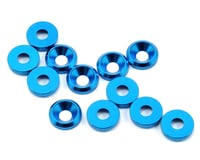 Flash Point 3mm Countersunk Washer (Blue) (12)