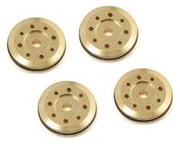 Flash Point 16mm Brass Damper Piston (4) (4X1.15mm/4X1.35mm 8-Hole)