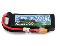 Gens Ace Adventure 3S 50C LiPo Battery Pack (11.1V/2200mAh)