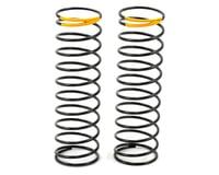 HB Racing 36.4mm Rear Shock Spring (Yellow - 36.4g/mm) (2)