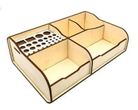 Hyperion DIY Benchtop Tool Stand Organizer Tray (Type 1)