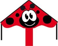 """HQ Kites Simple Flyer Ladybug Kite, 33"""""""
