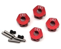 Hot Racing Arrma Senton 3S BLX Granite/Senton Aluminum 12mm Wheel Hub Adapter (4)