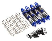 Hot Racing Traxxas 1/16 Threaded Aluminum Shocks (Blue) (LaTrax 1/18 Teton)