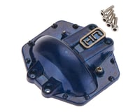 Hot Racing Metal Low Profile AR60 Diff Cover Blue Axial Yeti/W