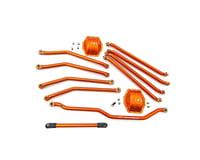 Hot Racing Aluminum Orange Link Set Axial Wraith/Ridgecrest