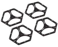 Hudy 1/10 Off-Road Aluminum Set-Up Wheels (4)