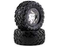 """Team Integy Alloy 4.0"""" Super Size Pre-Mounted Wheels w/40 Size Tires (2)"""