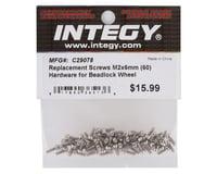 Team Integy 2x6mm Beadlock Screws (60)