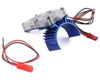 Team Integy Slash 4x4 Motor Heatsink w/Twin Fan (Blue)