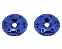 """JConcepts Aluminum """"Finnisher"""" Wing Button (Blue) (2) (Mugen MBX6T)"""