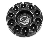 JConcepts Aluminum Pinion Puck Modified Range (Black)