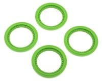 JConcepts Tribute Monster Truck Wheel Mock Beadlock Rings (Green) (4)