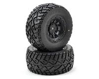 JConcepts G-Locs Pre-Mounted SC Tires (Hazard) (2) (SC5M) (Team Associated SC10.2)