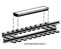 Kadee HO Non-Delayed Uncoupler, Between Rails