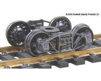 "Kadee HO Arch Bar Truck, 33"" Ribbed Wheels (1pr)"