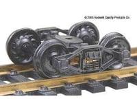 Kadee HO Bettendorf T-Section Trucks w/33 Ribbed Back Wh