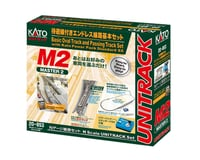 Kato N M2 Basic Oval and Siding Set with Power Pack
