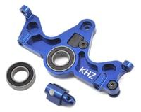 King Headz Traxxas Slash 4x4 Aluminum Motor Mount w/Telemetry Mount (Blue)