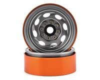 Team KNK Cyclone 1.9 Aluminum Beadlock Wheel (Natural) (2)