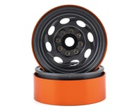 Team KNK Cyclone 1.9 Aluminum Beadlock Wheel (Grey) (2)