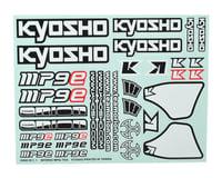 Kyosho Inferno MP9e Evo MP9 TKI4 Decal Sheet