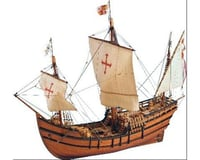 Latina 1 65 La Pinta Wooden Model Ship Kit