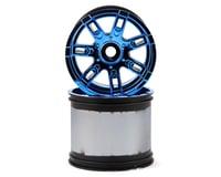 Losi LST 3XL-E 17mm Hex Monster Truck Wheel (Blue Chrome) (2)