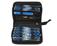 Maxline R/C Products 14 Piece Honeycomb Tool Set w/Case (Blue)