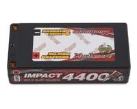 Muchmore Impact 2S LCG Shorty LiPo Battery Pack w/4mm Bullets (7.4V/4400mAh)