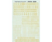 HO Letters & Numbers, Roman/Dulux