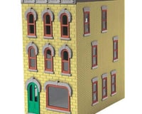 MTH Trains O 3-Story Town House #1 Yellow
