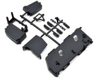 Mugen MBX7E ECO Seiki Radio Box & Battery Tray Set