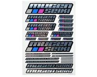 Mugen MRX5 Seiki Large Decal Sheet (Chrome)