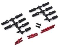 MST RMX 2.0 S Aluminum Turnbuckle Shaft Set (Red)