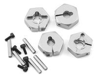 MST CFX-W 6mm Aluminum Hex Wheel Hubs (Silver) (4)