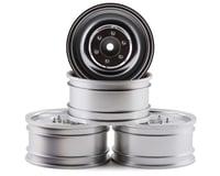 "MST CFX 60D 1.9"" Crawler Wheel (Flat Silver) (4) (+5)"