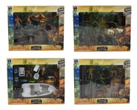 New Ray Wildlife Hunter Play Set (4 Assortment Options)