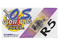 """O.S. R5 Short Body Standard Glow Plug """"Medium"""""""