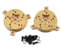 Team Ottsix Racing Voodoo VariHub Brass 12mm Hex Hubs (2)