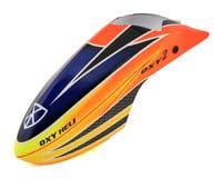 OXY Heli Fiber Glass Canopy Scheme #1 (Orange/Yellow/Blue) (Oxy 2)