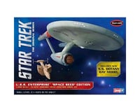 Round 2 Polar Lights 1/1000 Star Trek TOS USS Enterprise Space Seed Ed