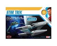 Round 2 Polar Lights 1/1000 Star Trek USS Grissom Klingon BoP (2pk)