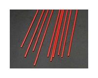 "Plastruct FARR-2H Fluor Red Rod,1/16"" (10)"