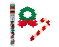 Plus-Plus 04117 - Holiday Mix - 70 pcs. - Candy Cane & Wreath Building Set