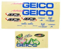 Pro Boat Miss GEICO 17 Decal Sheet