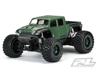 Pro-Line Jeep Gladiator Rubicon Pre-Cut Monster Truck Body (Clear) (Traxxas X-Maxx)