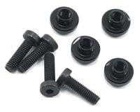 ProTek RC Aluminum Servo Mount Grommet (Black) (4) (Kyosho Ultima RB5)